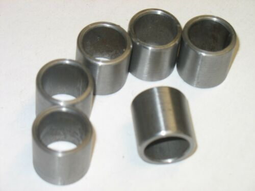 Metric  Steel Bushings //Spacer//Sleeve15 MM OD X 10 MM ID X 25 MM Long  2 Pcs