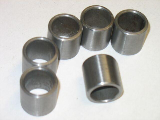 "Steel Bushings //Spacer  11//16 /""OD X 7//16/"" ID X 1 1//4/"" Long   8 pcs 1018 CRS"