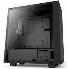 NZXT S340 Elite Matte Black Midtower Case Cabinet ATX USB 3.0 Gaming