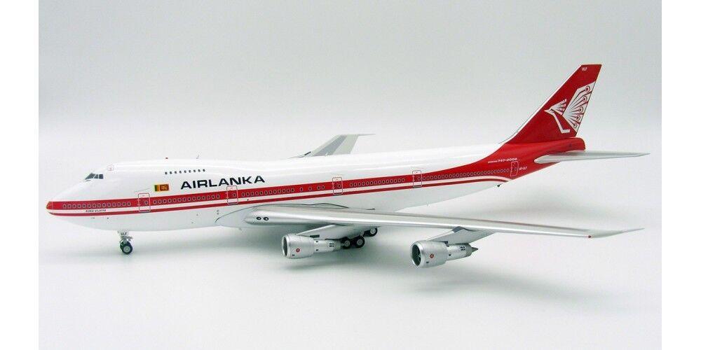 Inflight 200 IF742AL001 1 200 AIRLANKA Boeing 747-200 4R-ULF Rey Vijaya con Soporte