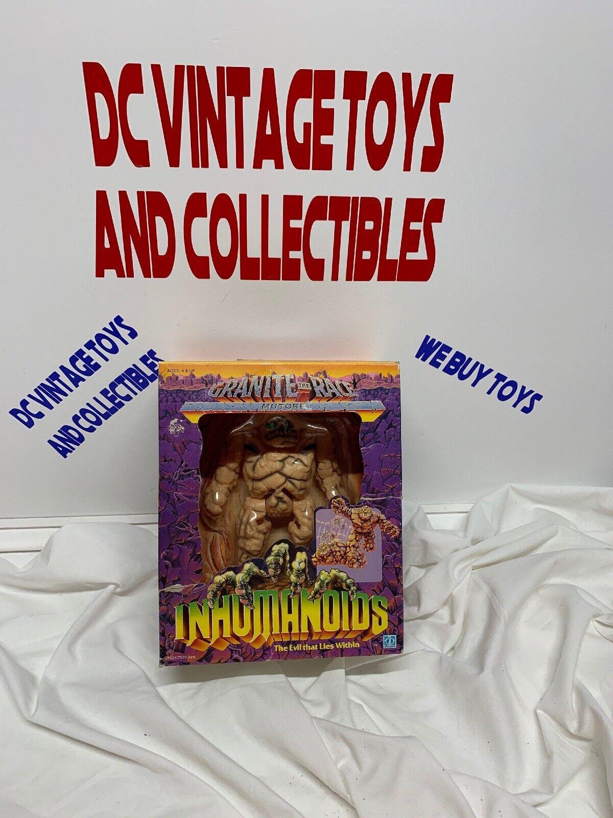 Inhuuomooids sealed Mutore Granite the Race in scatola   Vintage Hasbro Sealed nuovo