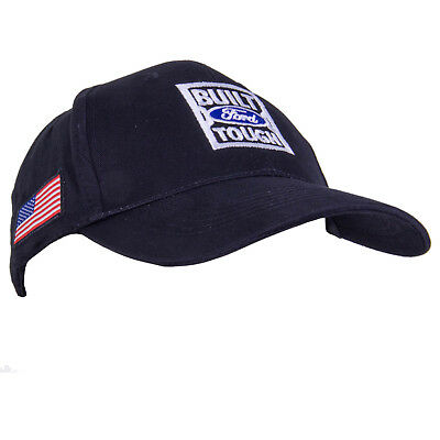 Ford American Flag Hat Blue