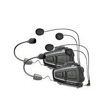 New Cardo Scala Rider Q1 Teamset Motorcycle Bluetooth Intercom System - BTSRQ1T