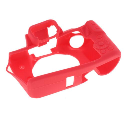 Cámara Digital De Goma Suave Funda Protectora Para Canon EOS M50 Rojo