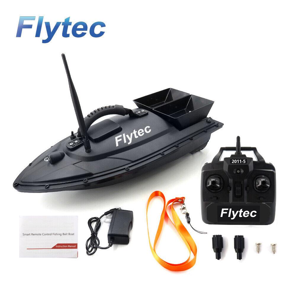 Flytec 2011 - 5釣りツール餌ボート500 mコントロール5.5 km / h RCボート米ディーラーW 7 S 3