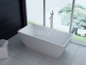 Vasca Da Bagno Freestanding Rettangolare : Vasca da bagno rettangolare unika freestanding moderna vasche design