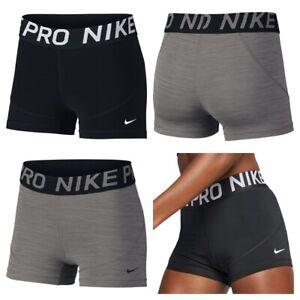 Nike-Short-Femme-Mesdames-Pro-Gym-Entrainement-Court-Interieur-Collants-Taille-XS-S-M-L-XL
