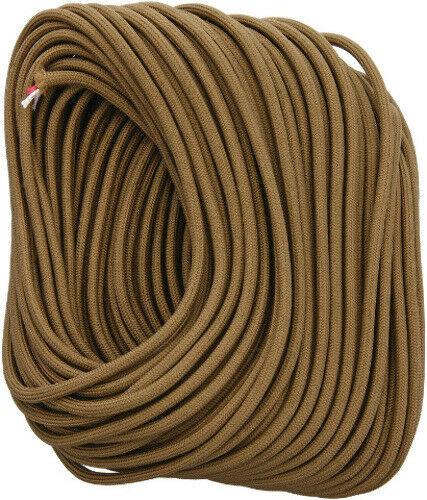 Live Fire Firestarting New FireCord 100ft Coyote Brown FC-COYOTEBROWN100