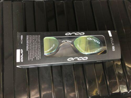 180 Mirrored Orca Killa Speed Swimming Goggle