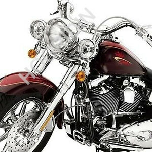 Harley-softail-flstc-heritage-chrome-front-end-kit-fork-sliders-lower-legs