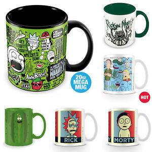 Rick-And-Morty-Mug-Coffee-Tea-Pickle-Rick-Heat-Changing-Mega-Mug-Official