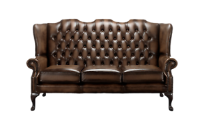 Swell Details About Chesterfield Sofa Carlton Settee 3 Seater Antique Real Leather Made In Uk Download Free Architecture Designs Aeocymadebymaigaardcom