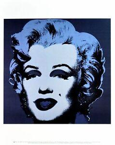 Andy Warhol Marilyn Monroe 1967 (black) Poster Kunstdruck Bild 36x28cm