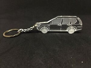 Keychain-with-ring-for-Nissan-X-Trail-T31-acrylic-car-keyring-llavero-coche