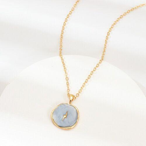 New Arrive necklace For Women Brinco Heart Moon Star Lightning Oil