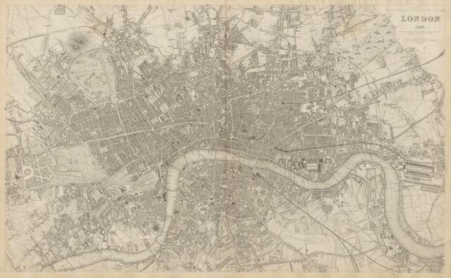 OLD ORDNANCE SURVEY MAP MORETON IN MARSH 1919 WELLINGTON TERRACE THE GREEN
