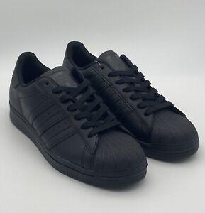 adidas-Originals-Superstar-Black-Men-039-s-Shoes-EG4957