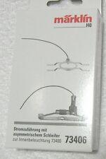 Märklin 73406 personenwagen - stroomverzorgingsset met assymmetrische sleper.