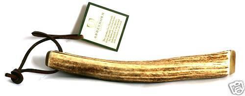Stag Horn Antler 20cm Angelpriester Kosh Trout oder Lachs Geschenk Neu von Abbeyhorn