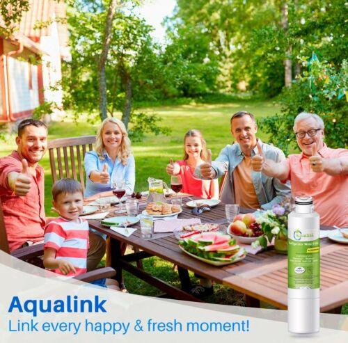 Refrigerator Water Filter Fits Samsung RF260BEAESP RF260BEAESG RF260BEAEWW 1-3Pk