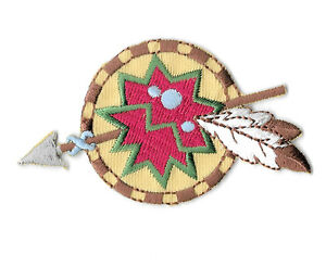 Southwest Patch Feather Patch, Southwestern Applique Embroidered Southwestern Rose And Feathers Iron On Patch Rose And Feather Patch