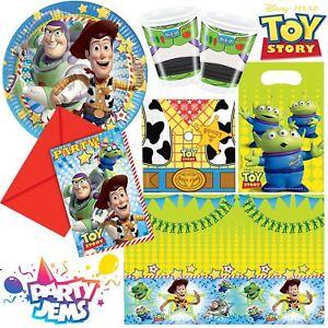Pixar-Toy-Story-Party-Enfants-Anniversaire-Vaisselle-Decorations