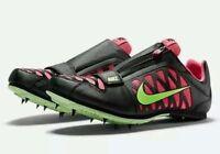 Nike Zoom Lj 4 Long Jump Spikes Track Running Jumping Mens Size 14 Black Green