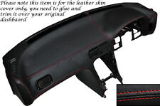 RED Stitch DASH Dashboard Leather Cover Si Adatta Nissan S13 200SX 180SX 1988-1993
