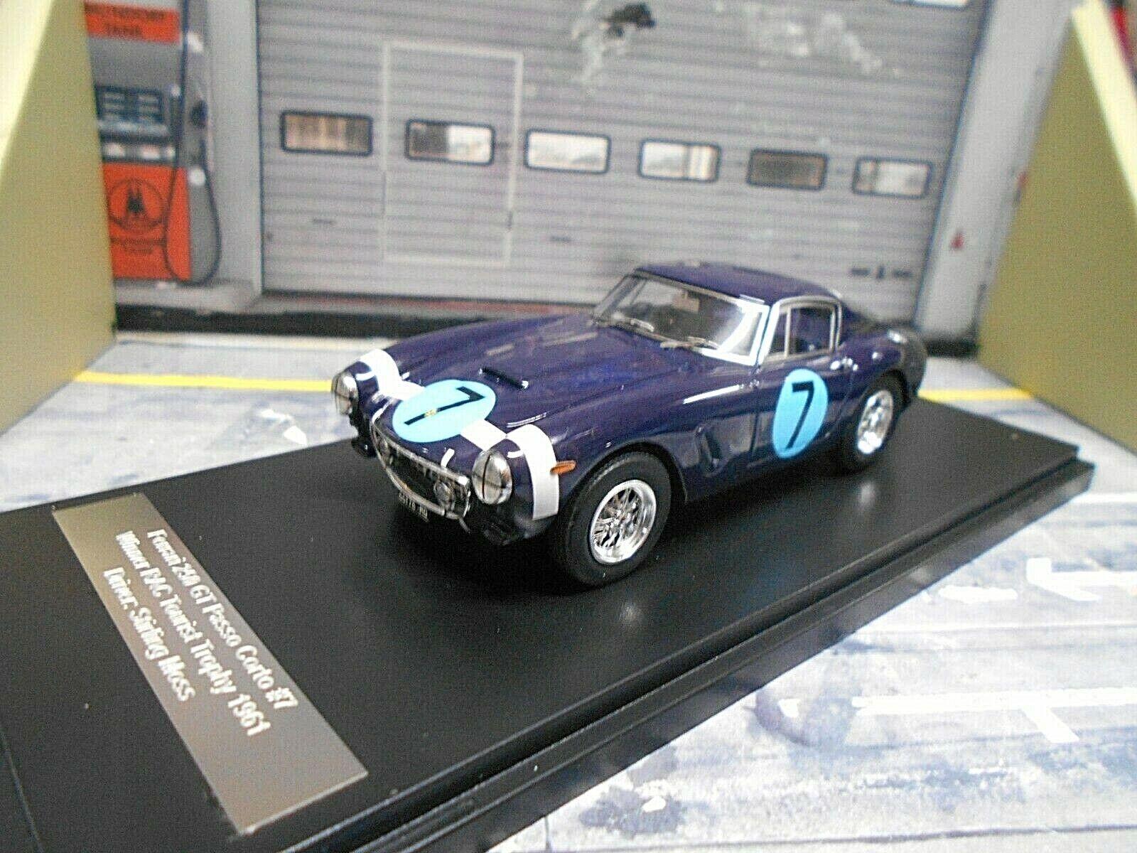 Ferrari 250 GT Passo Corto Winner RAC Trophy 1961  7 Stirling Moss matrice 1 43