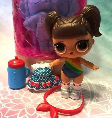LOL Surprise Big Sis Series 4 Under Wraps Eye Spy 80/'s Baby ❤️ Free Ship $25