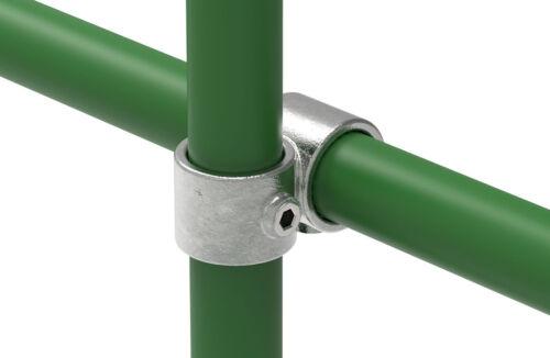 Rohrverbinder Temperguss Kreuzstück vorgesetzt 90° Ø 26,9 bis 60,3 mm galvanisie