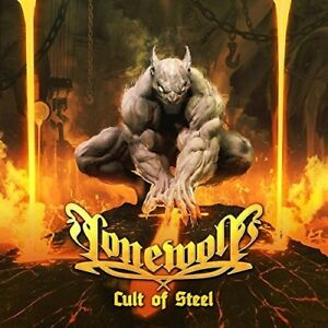 LONEWOLF - CULT OF STEEL (LTD.DIGIPAK)  CD NEUF