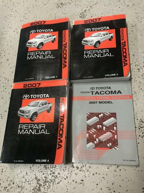 2007 Toyota Tacoma Truck Service Shop Repair Manual