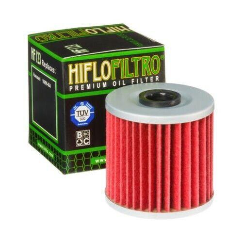 Hiflofiltro Oil Filter (HF123) Fits KAWASAKI KLX650 / KLX650R (1993 to 2001)