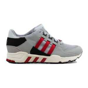sale retailer 1172c aa1ea Image is loading Adidas-Equipment-Running-Support-93-Black-White-Scarlet-