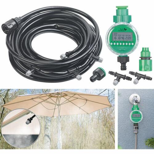 Royal Gardineer Bewässerungscomputer mit zuschneidbarem Wasser-Zerstäuber-Set
