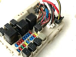 Details about 2004 2005 Nissan Quest Fuse Box Relay Control Module on 05 mazda tribute fuse box, 05 jeep liberty fuse box, 05 ford five hundred fuse box, 05 ford excursion fuse box, 05 dodge dakota fuse box, 05 ford freestar fuse box, 05 toyota prius fuse box, 05 saturn relay fuse box, 05 mercury mariner fuse box, 05 lincoln town car fuse box, 05 ford mustang fuse box, 05 pontiac grand prix fuse box, 05 dodge grand caravan fuse box, 05 ford crown victoria fuse box, 05 dodge ram fuse box, 05 mercury mountaineer fuse box, 05 chrysler town and country fuse box, 05 jeep wrangler fuse box, 05 acura rl fuse box, 05 toyota matrix fuse box,