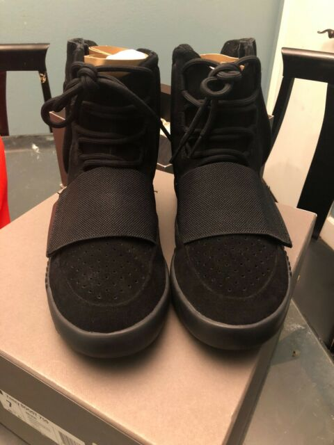 c108d246ad9f0 Authentic Adidas Black Yeezy Boost 750 Size 7