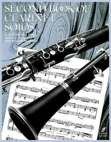Second Of Clarinet Solos Instrumental Solo Piano Learn to Play FABER Music BOOK