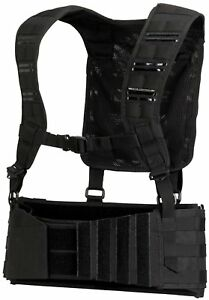 Dye-Tactical-Paintball-Pod-Harness-Pack-MOLLE-with-shoulder-straps-BLACK