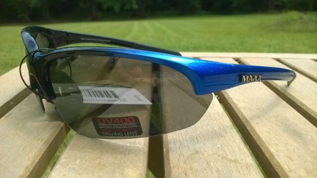 3b31a4f27a Maxx HD Sunglasses Domain HDP black golf blue smoke polarized mens womens C3