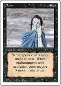 Gloom PL MTG Revised 3rd Magic 2B3