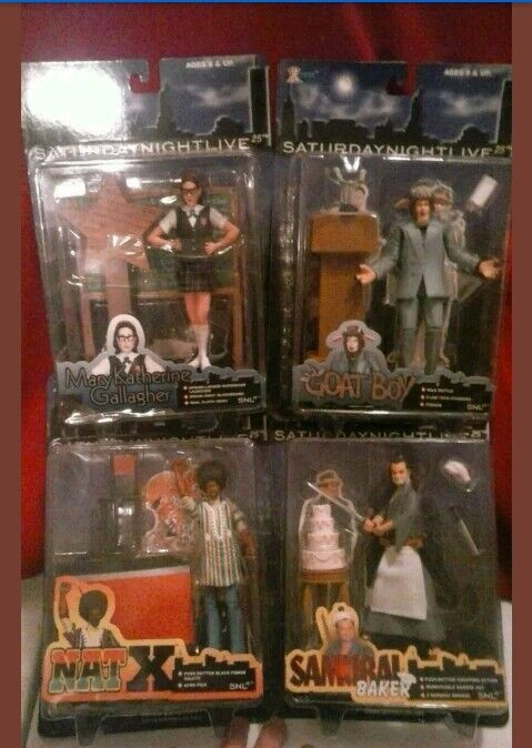 X-Toys Saturday Night Live Series 1 Set of of of 4 Action Figure Collection d40aa1