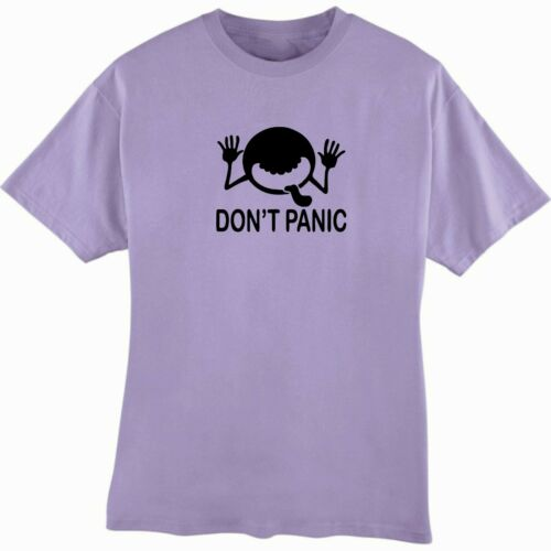 Don/'t Panic T-Shirt The Hitchhiker/'s Guide to the Galaxy