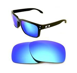 4cd97b13aa202 Neuf de Rechange Bleu Glace Verre pour Oakley Holbrook Lunettes de ...