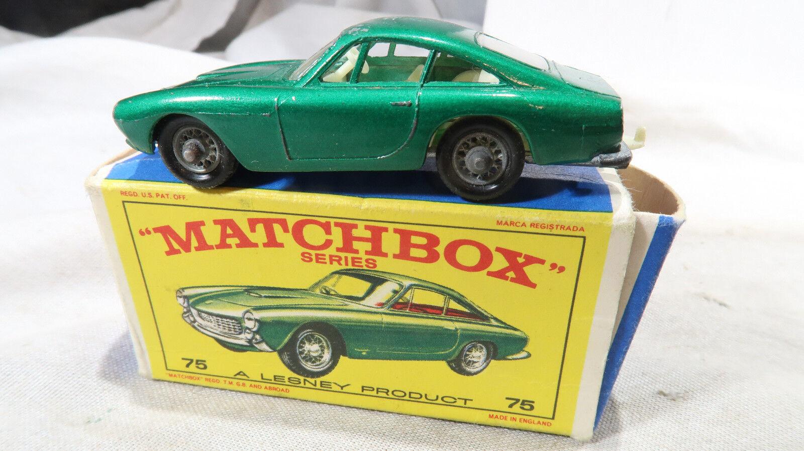 salida Rueda regular En Caja Matchbox Nº Nº Nº 75 Ferrari Berlinetta  comprar mejor