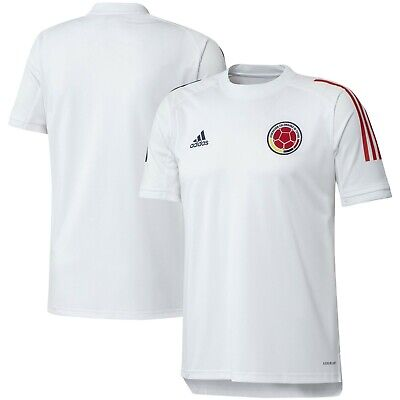 adidas Colombia Copa America 2020 Training Soccer Jersey Brand New White Red   eBay