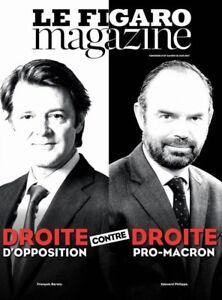 LE-FIGARO-MAGAZINE-10-6-2017-MACRON-DROITE-contre-DROITE-Le-Crillon-Le-Ritz