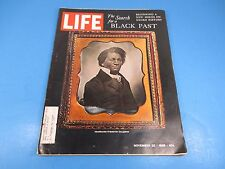LIFE Magazine November 22, 1968 The Search for a Black Past Negro History L405