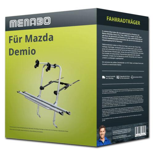 Menabo Fahrradträger Logic 2 für Mazda Demio Typ DW 2 Fahrräder  NEU PKW